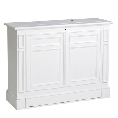 Chatham 55 TV Stand Color: White
