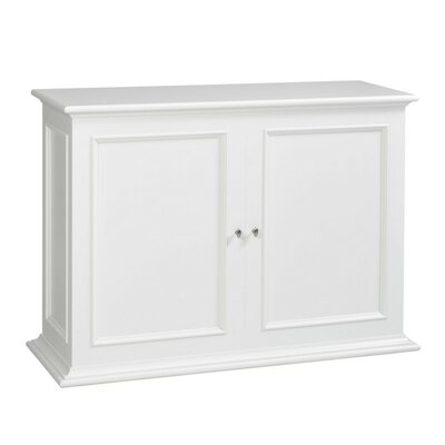Sanctuary 50 TV Stand Color: White