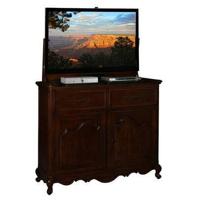 Belle 51 TV Stand Color: Rich Brown