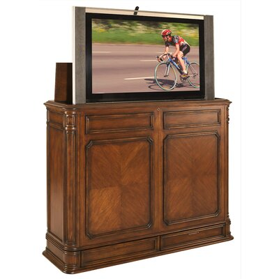 Crystal Pointe TV Stand Finish: Brown