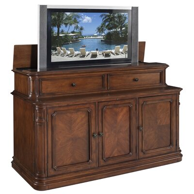 Cheap TVLIFTCABINET, Inc Banyan Creek XL TV Lift Cabinet in Medium Wood (IXA1018)