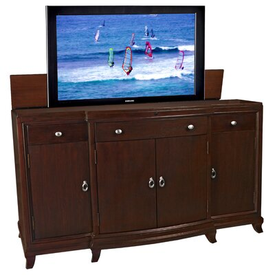 Cheap TVLIFTCABINET, Inc Ashford Manor TV Lift Cabinet in Dark Wood (IXA1030)
