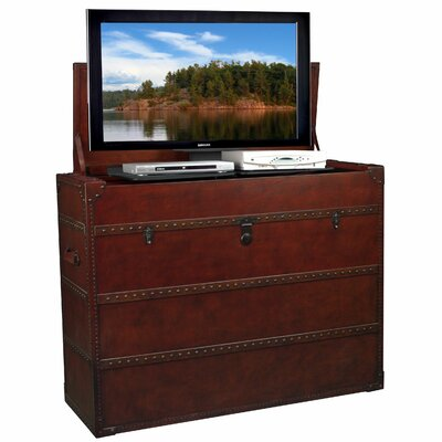 Cheap TVLIFTCABINET, Inc Antiquity TV Lift Cabinet in Cherry Wood (IXA1028)