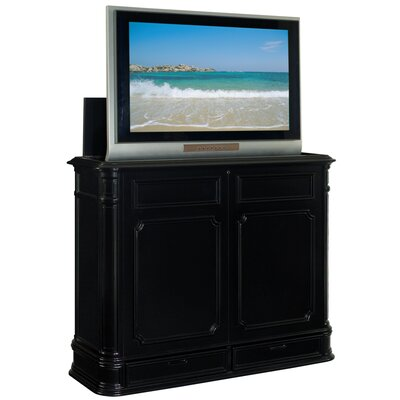 Crystal Pointe TV Stand Finish: Black