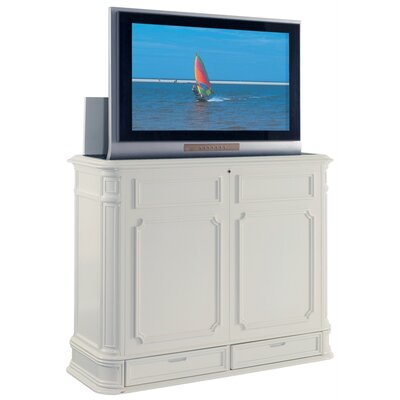 Crystal Pointe TV Stand Finish: White