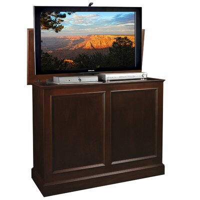 Carousel TV Stand Finish: Brown