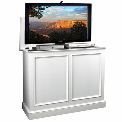 Carousel 48.5 TV Stand Color: White
