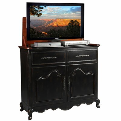 Belle 51 TV Stand Color: Black