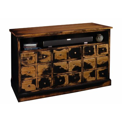 Nantucket 60 TV Stand Color: Weathered Black