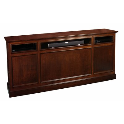 Suite 82 TV Stand Color: Coffee Brown