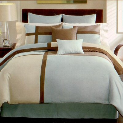 YT12 Malibu Fashion 3 Piece Duvet Cover Set Size: King