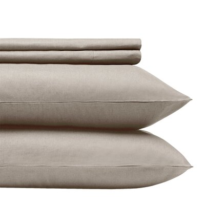 1000 Thread Count 100% Egyptian Quality Cotton Sheet Set Size: King, Color: Taupe