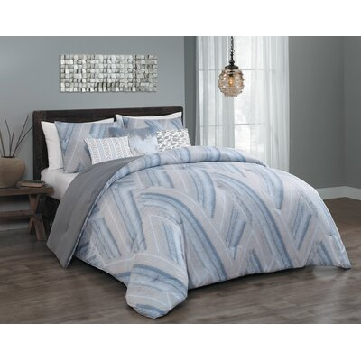 Vega 6 Piece Comforter Set Size: Queen