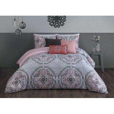 Positano 6 Piece Comforter Set Size: King