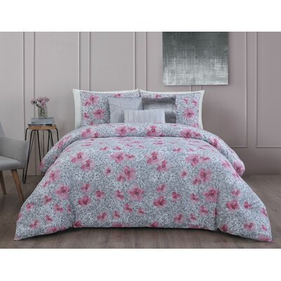Ellie 6-Piece Comforter Set Size: Queen