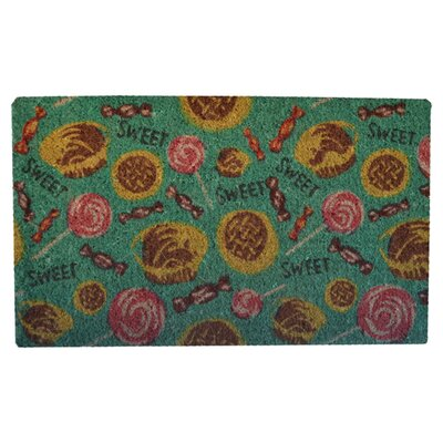 Creel Sweet Tooth Doormat Mat Size: Rectangle 30 x 18