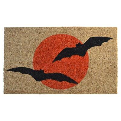 Molded Bats Doormat Rug Size: 30 x 18