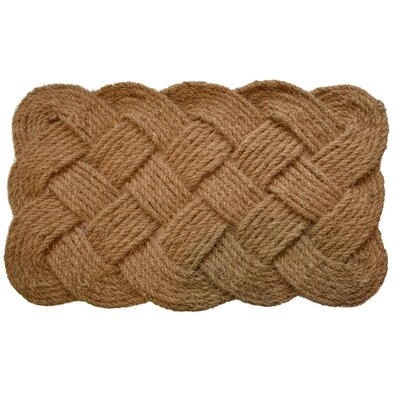 Woven Rope Doormat Rug Size: Rectangle 37 x 24