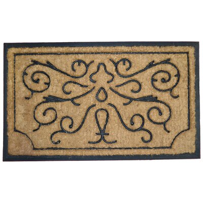 Swirls and Twirls Doormat
