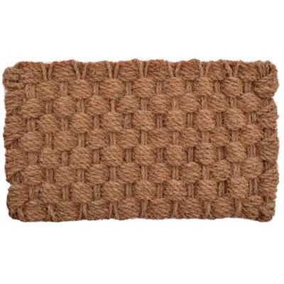 Woven Admiral Rope Doormat Mat Size: Rectangle 30 x 18