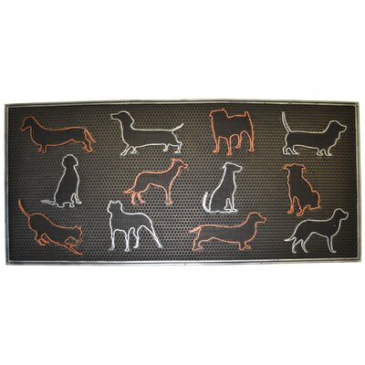 Colored Dog Doormat