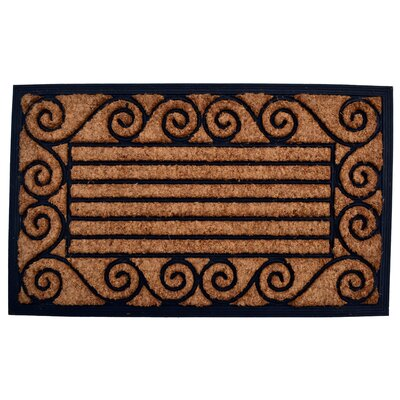 Molded Ameeba Doormat Size: Rectangle 18 x 30