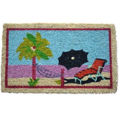 Creel Beach Doormat Size: Rectangle 18 x 30