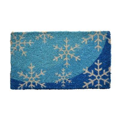 Creel Flakes Doormat Mat Size: Rectangle 18 x 30
