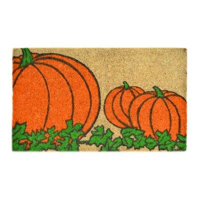 Creel Pumpkin Doormat