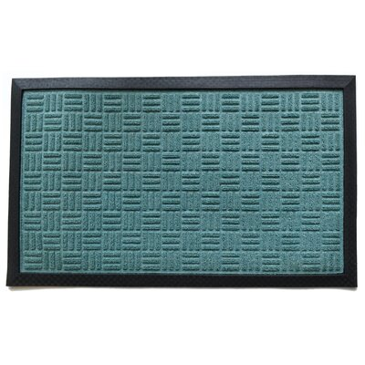 Molded Doormat Mat Size: Rectangle 18 x 30