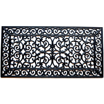 Molded Brooklyn Doormat Size: Rectangle 24 x 48