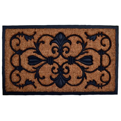 Molded Brigoder Doormat Mat Size: Rectangle 18 x 30