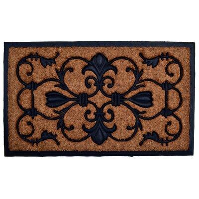Molded Brigoder Doormat Size: Rectangle 18 x 30