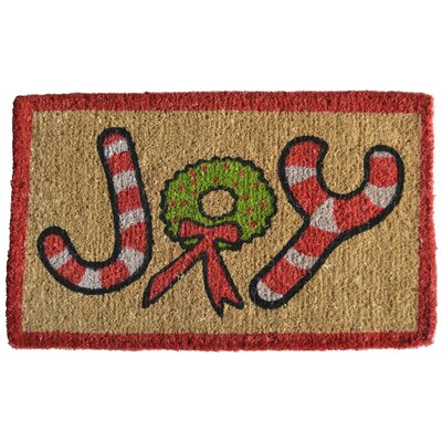 Creel Joy Doormat Mat Size: Rectangle 30 x 18