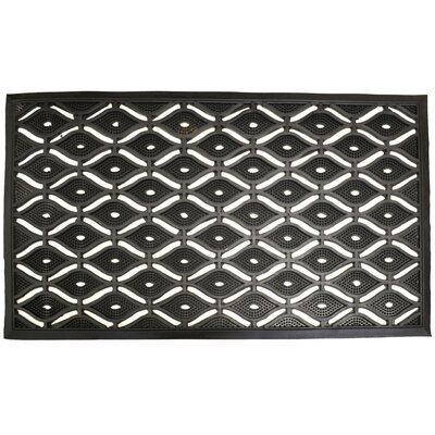 Molded Eye Pin Doormat Size: 22 x 36