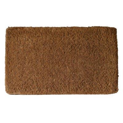 Plain Doormat Mat Size: 16 x 26