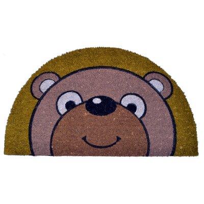 Half Round Bear Doormat