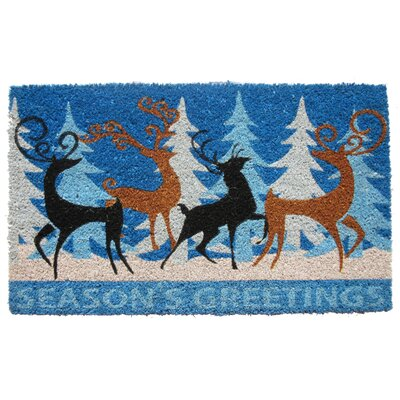 Deer Family Doormat