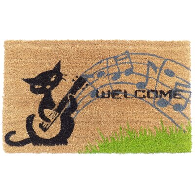 Musical Cats Doormat