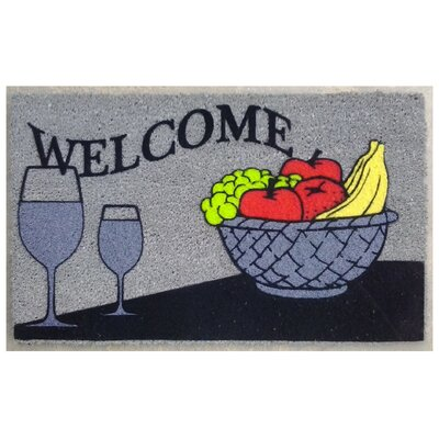 Welcome Wine Doormat
