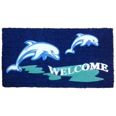 Dolphin Beach Doormat