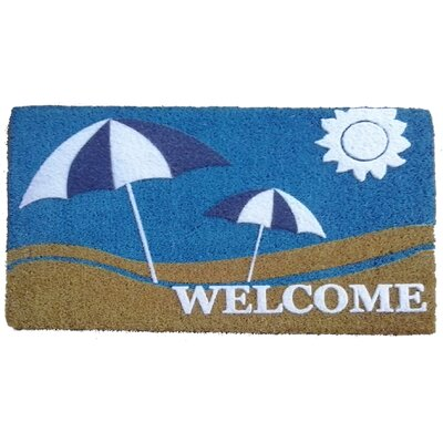Sun and Sand Doormat