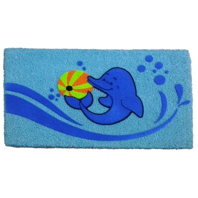Dolphin Beach Ball Doormat