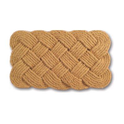 Woven Rope Doormat Rug Size: 37 x 24