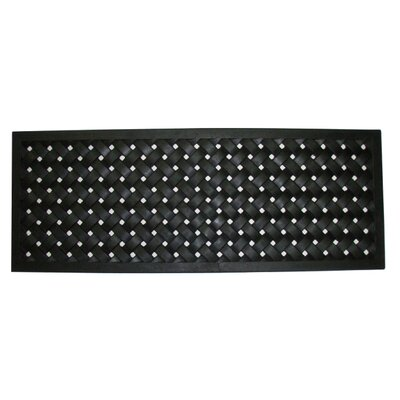 Molded Braided Utility Mat Size: 18 x 47