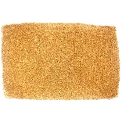 Plain Doormat Rug Size: 12 x 2