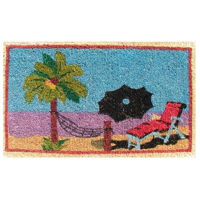 Creel Beach Doormat Size: 18 x 30