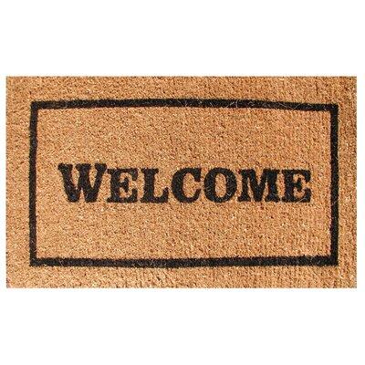 Creel Welcome Doormat Size: 18 x 30