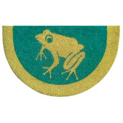 Tufted Frog Doormat Size: 18 x 30