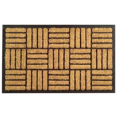 Molded Criss Cross Doormat Size: 18 x 30